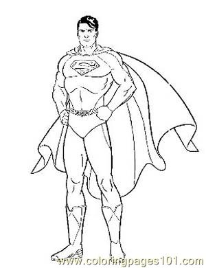 Superman20 Coloring Page For Kids Free Marvel Comics Printable Coloring Pages Online For Kids Coloringpages101 Com Coloring Pages For Kids