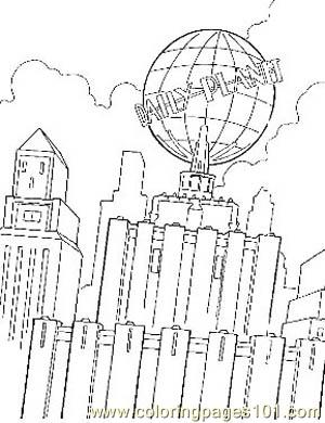 Superman24 Coloring Page