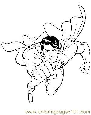 Superman27 Coloring Page Free Marvel Comics Coloring