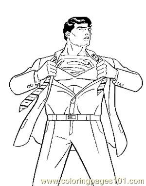 Superman5 coloring page free marvel comics coloring for Free marvel comic coloring pages