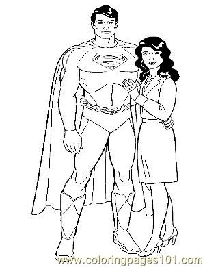 Superman9 Coloring Page