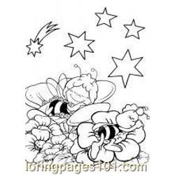 Maya The Bee 14 M Free Coloring Page for Kids