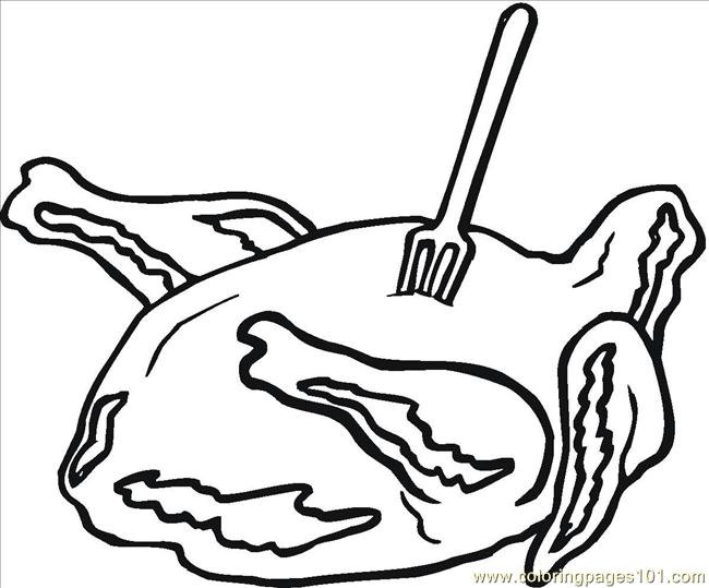 meats coloring pages - photo#16