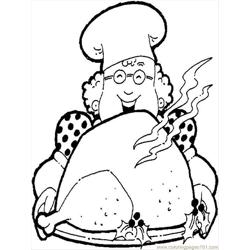 Food1 coloring page