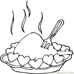 Turkey (13) coloring page