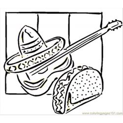 Tacos And Guitar