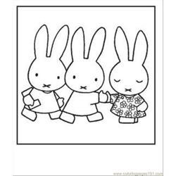 Miffy Three Printable2
