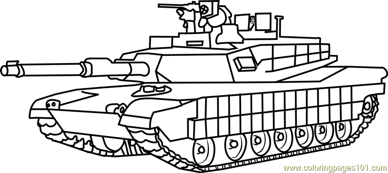 M1 Abrams Army Tank Coloring Page For Kids Free Tanks Printable Coloring Pages Online For Kids Coloringpages101 Com Coloring Pages For Kids