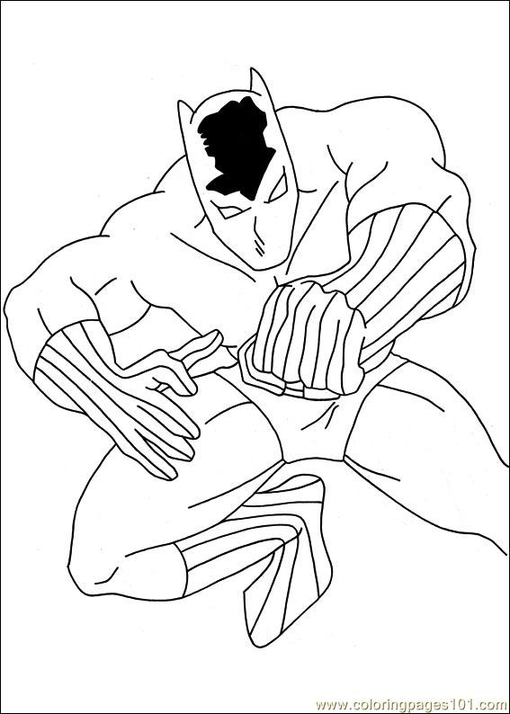 Captain America 08 Coloring Page