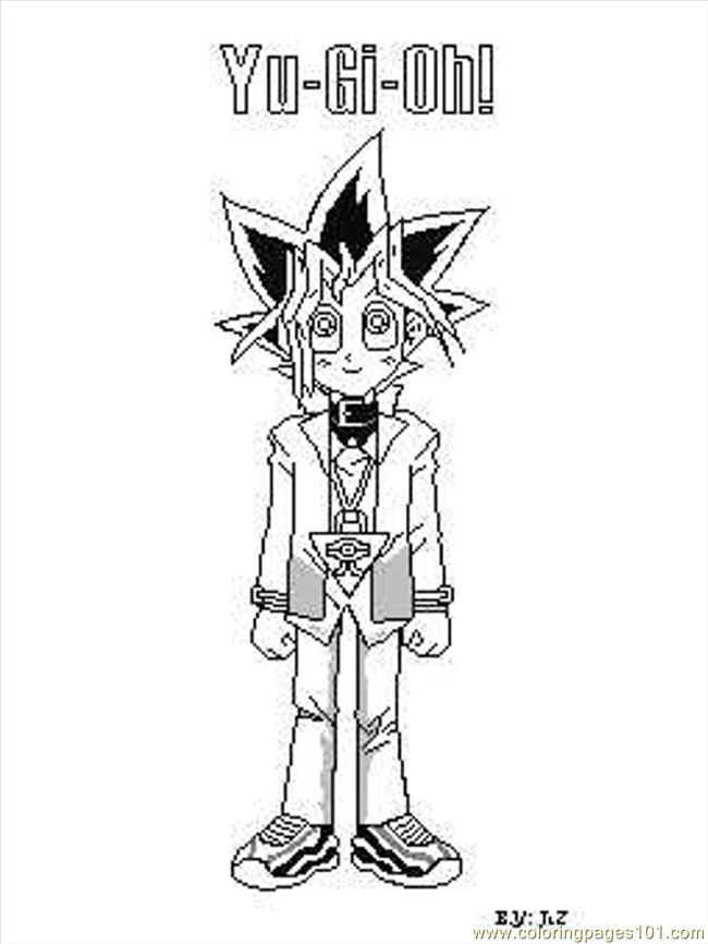 Color Yugi Jess Coloring Page