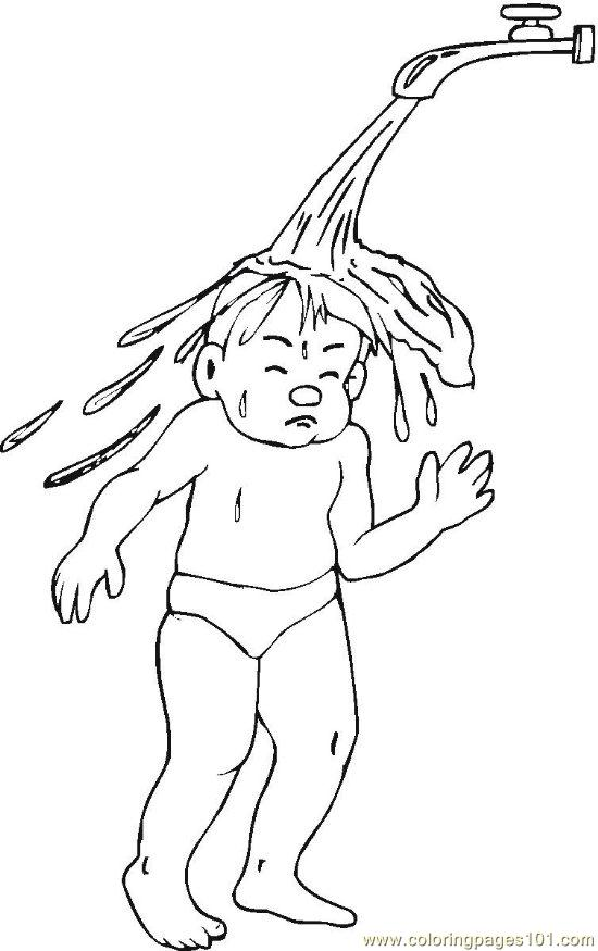 hygiene  6  coloring page