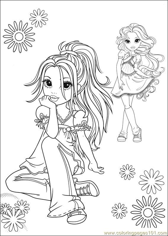Free moxie girls coloring pages ~ Moxie Girlz 09 Coloring Page - Free Miscellaneous Coloring ...
