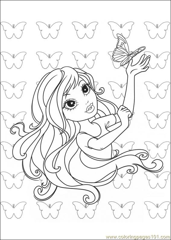 Moxie Girlz 12 Coloring Page