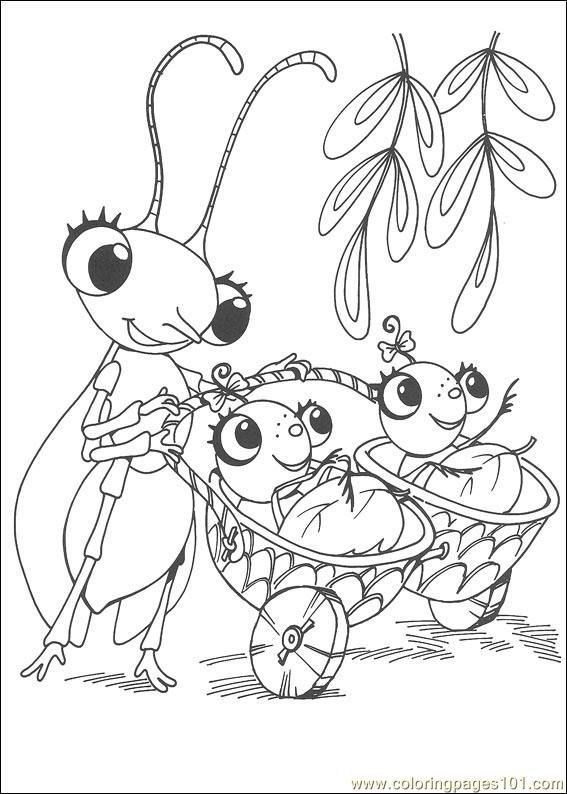 Miss alphabet coloring pages ~ Miss Spider 17 Coloring Page - Free Miss Spider Coloring ...