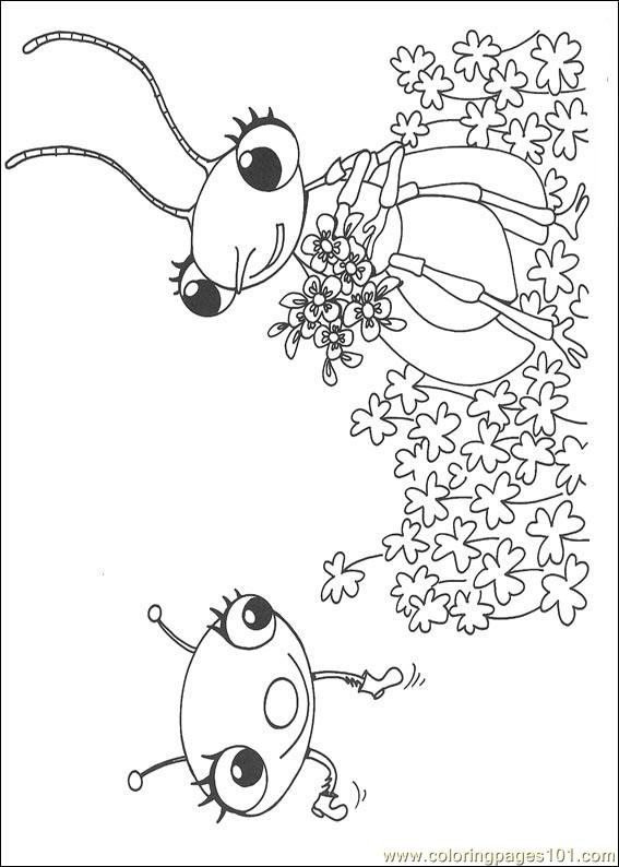 Miss Spider 24 Coloring Page - Free Miss Spider Coloring Pages ... | 794x567