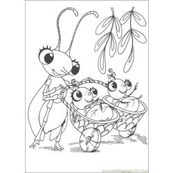 Miss Spider 17 coloring page