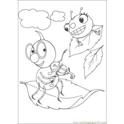 Miss Spider 21 coloring page