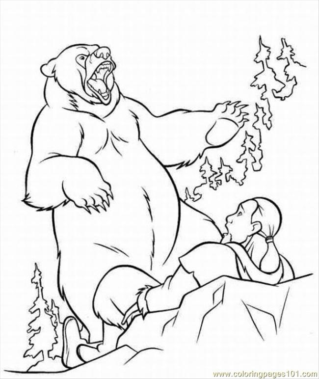 Cloring Pages Of Monkeys 1 Lrg Coloring Page