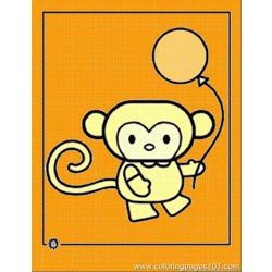 Cartoon Animal Monkey