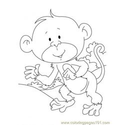 Ape Coloring Page3