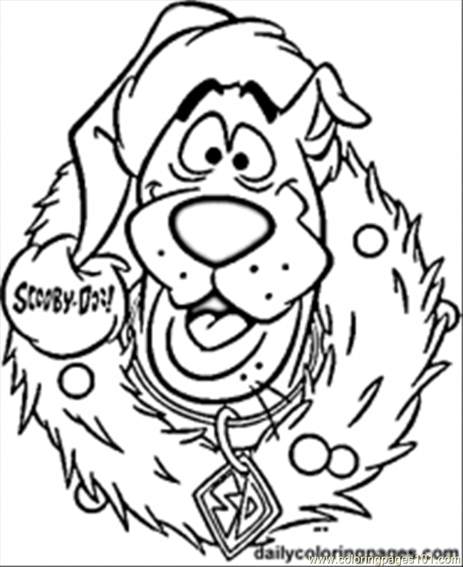 Eath Christmas Coloring Pages Coloring Page - Free Monsters, Inc ...