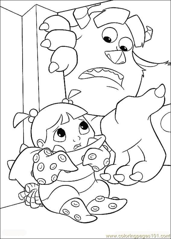 Monsters Inc13 Coloring Page