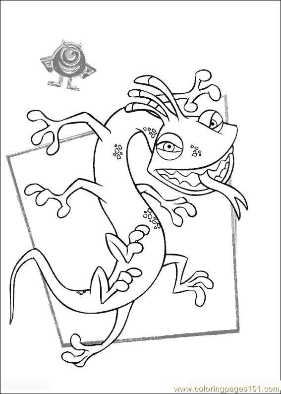 Monsters Inc19 Coloring Page