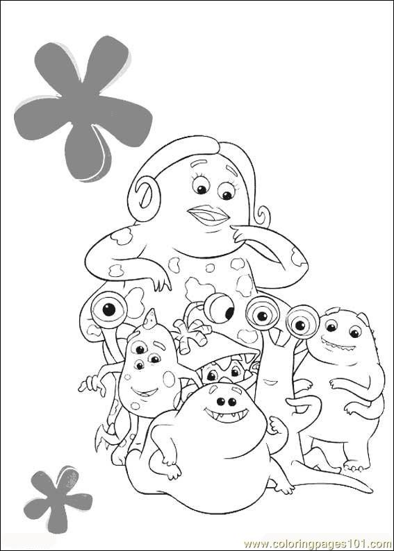 Monsters Inc20 Coloring Page