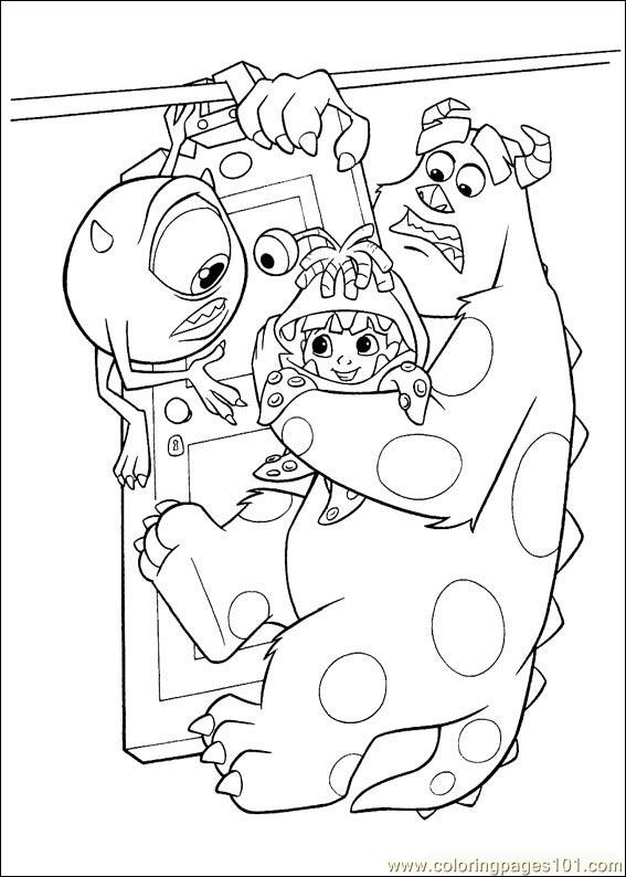 Monsters Inc30 Coloring Page