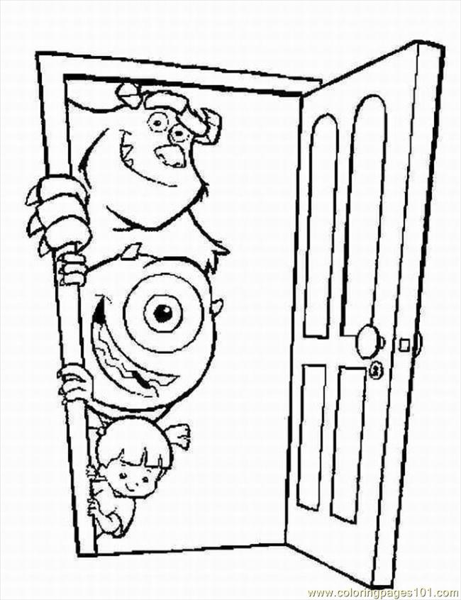 Ters Inc Coloring Pages 4 Lrg Coloring Page