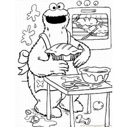 Ie Monster Coloring Pages Lrg