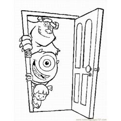 Ters Inc Coloring Pages 4 Lrg
