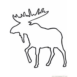 Moose outline