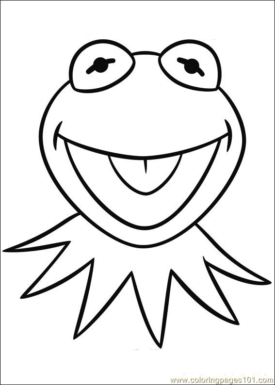 free online muppet coloring pages - photo#35