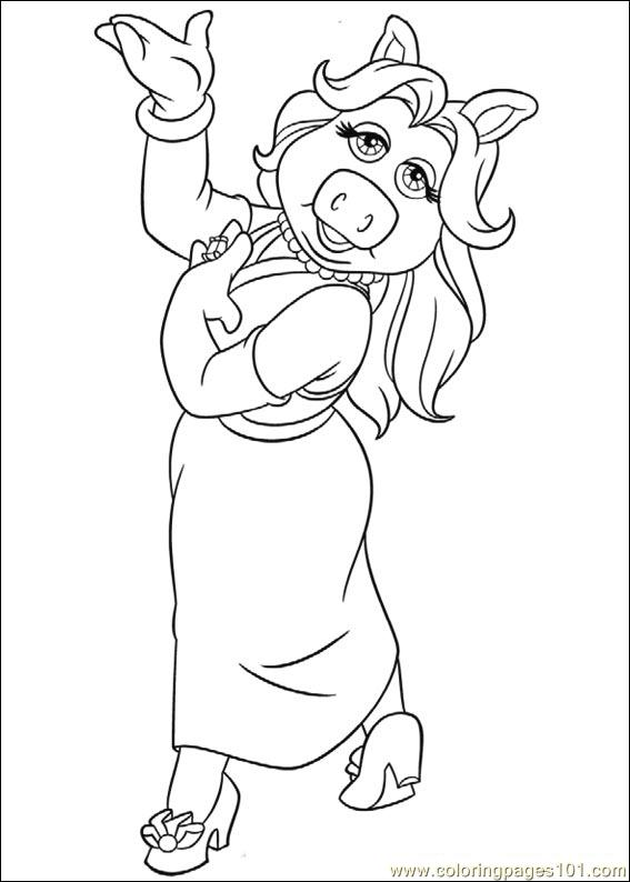 Muppets 03 Coloring Page
