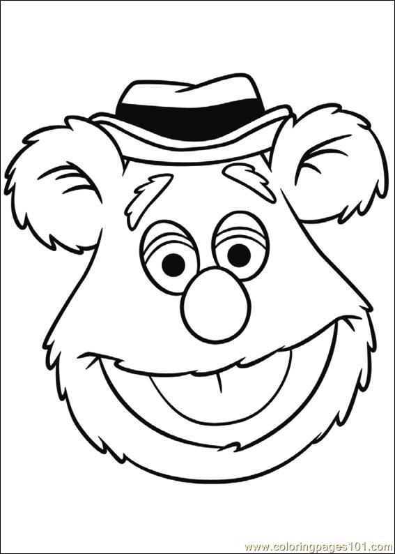 Muppets 04 Coloring Page Free Muppet Babies Coloring