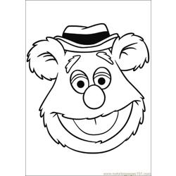 Muppets 04 Free Coloring Page for Kids