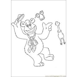 Muppets 11 Free Coloring Page for Kids