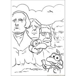 The Baby Makes Statues Free Coloring Page for Kids