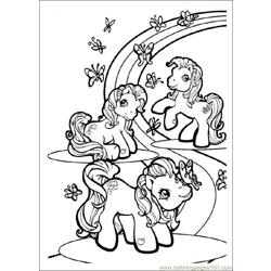 My Littlepony Free Coloring Page for Kids