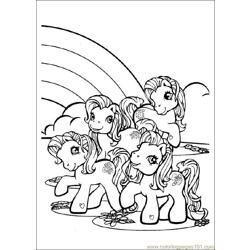 Mylittlepony 04 Free Coloring Page for Kids