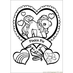 Mylittlepony 09 Free Coloring Page for Kids