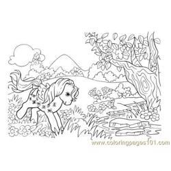 The Fores Free Coloring Page for Kids