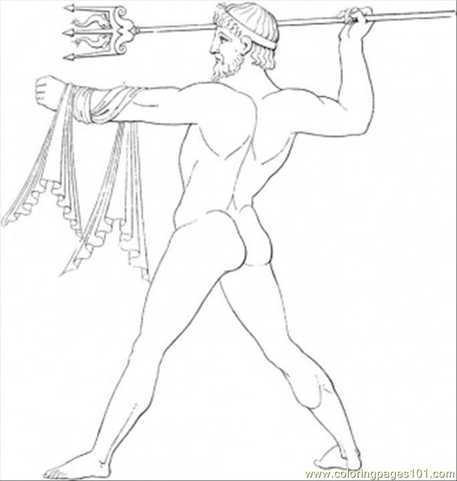Neptune Coloring Page