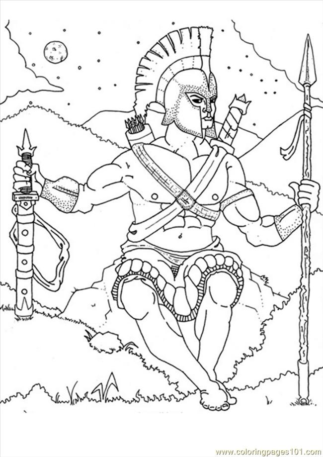 Ares Coloring Page Source 2e3 Coloring Page