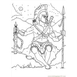 Ares Coloring Page Source 2e3