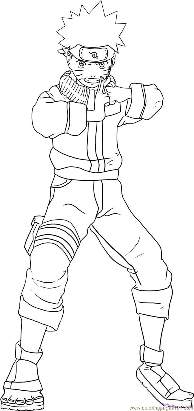 Naruto14 Coloring Page Free Naruto Coloring Pages - naruto coloring pages pdf