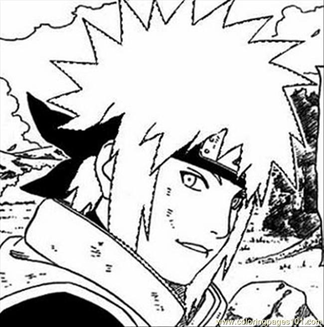 Naruto Coloring Pages Pdf : Naruto l coloring page free pages
