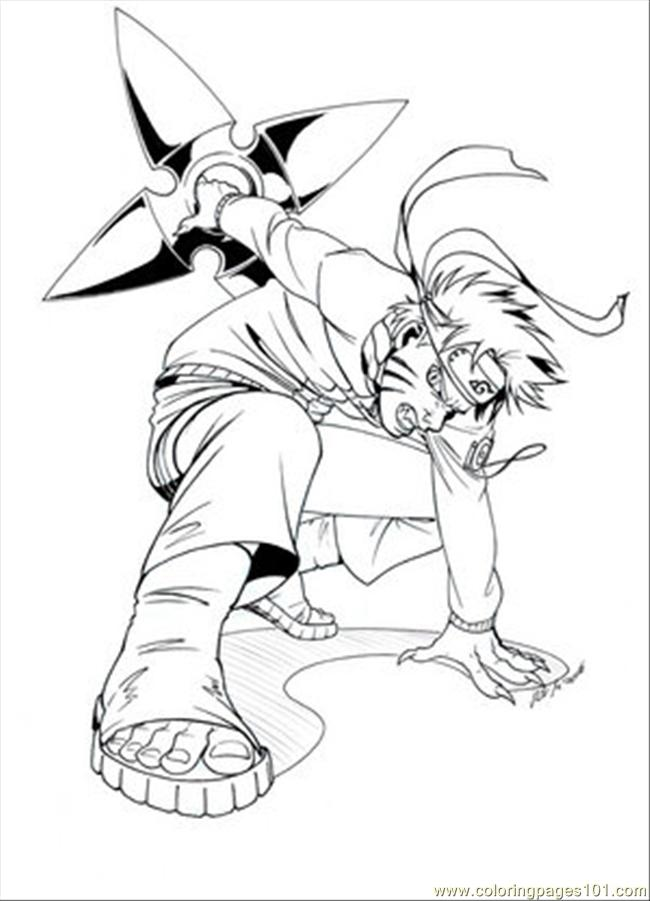 Naruto Coloring Pages Pdf : Naruto coloring page free pages