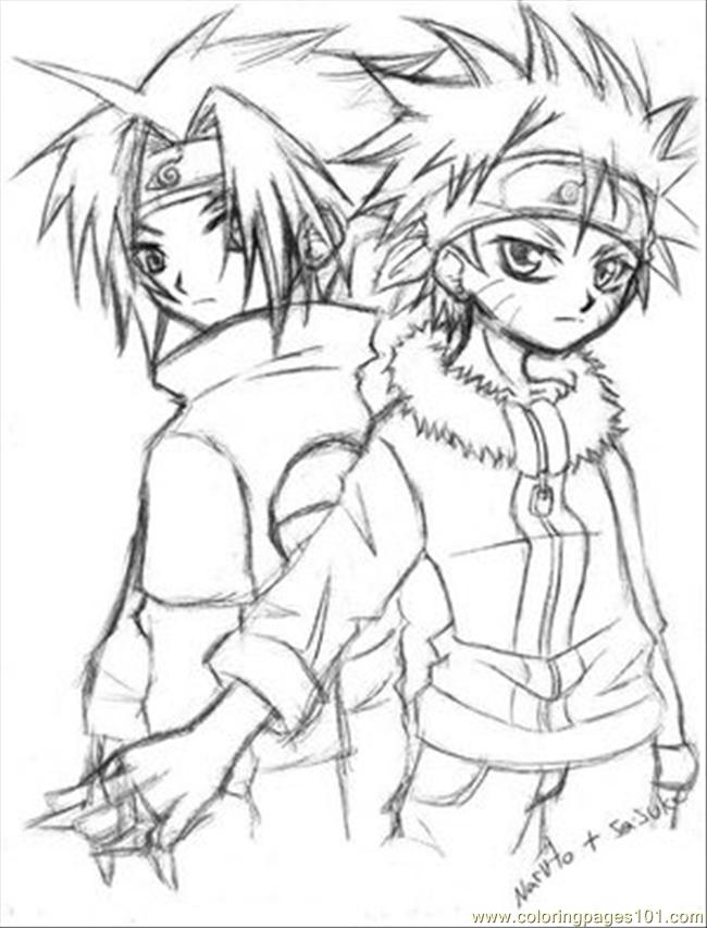 Naruto7 Coloring Page Free Naruto Coloring Pages - naruto coloring pages pdf